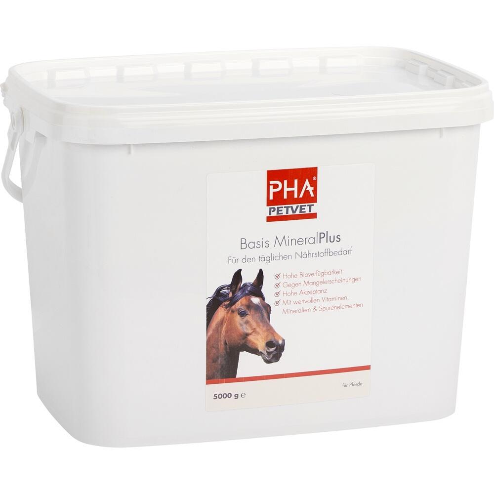 09670676, PHA Basis Mineral Plus für Pferde, 5000 G