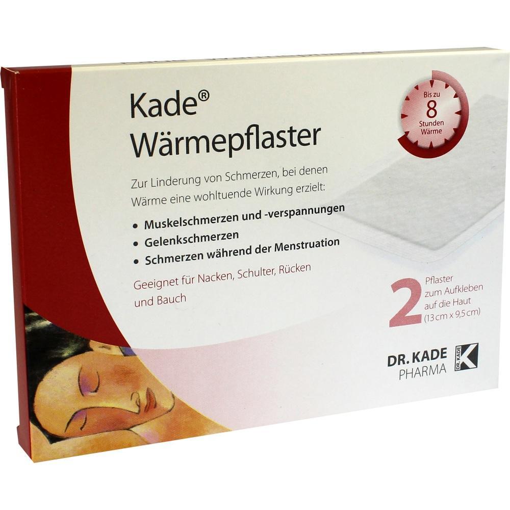 09732584, Kade Wärmepflaster, 2 ST