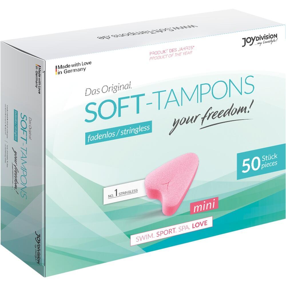 09750240, Soft-Tampons mini, 50 ST