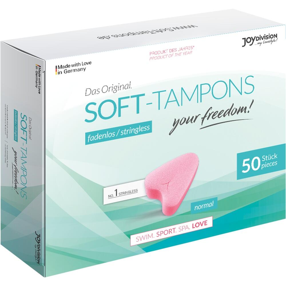 09750257, Soft-Tampons normal, 50 ST