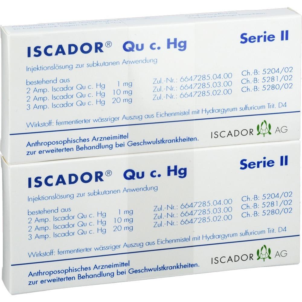 ISCADOR Qu c.Hg Serie II Injektionslösung