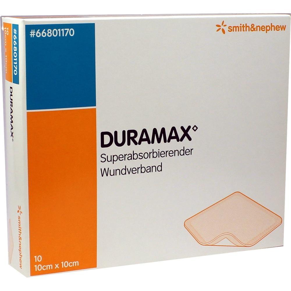 DURAMAX Wundverband 10x10 cm
