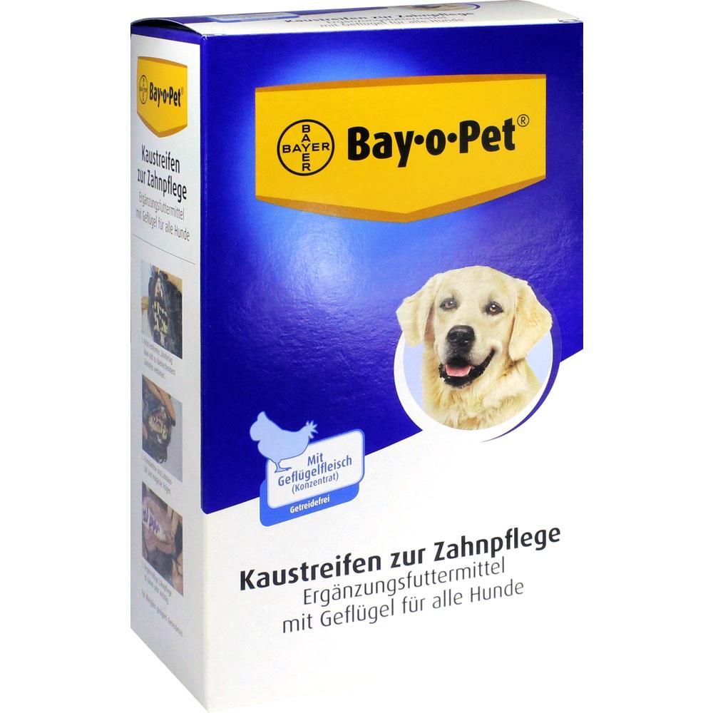 09777776, Bay-o-Pet Geflügel Kaustreifen für Hunde, 140 G