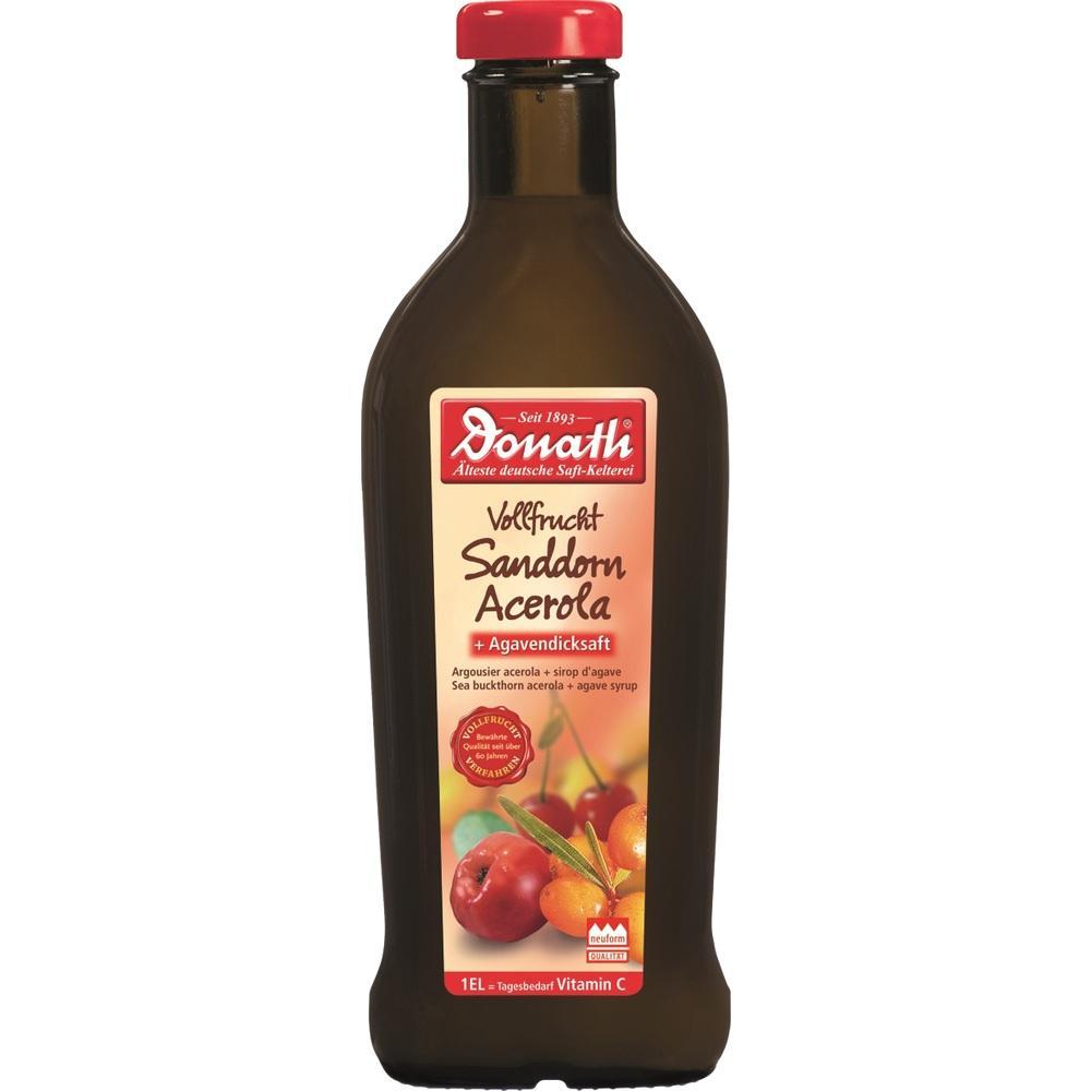 DONATH Vollfrucht Sanddorn Acerola+Agavendicksaft