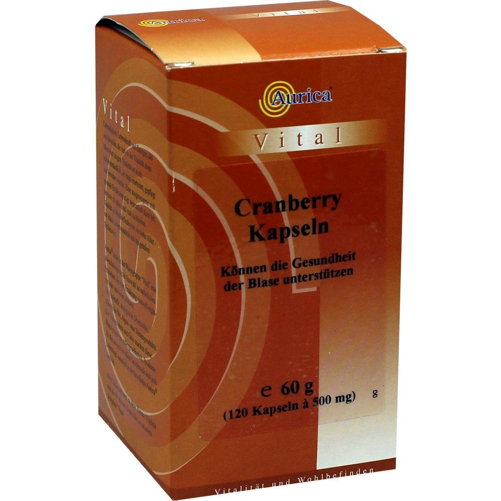 09891940, Cranberry 400mg Kapseln, 120 ST
