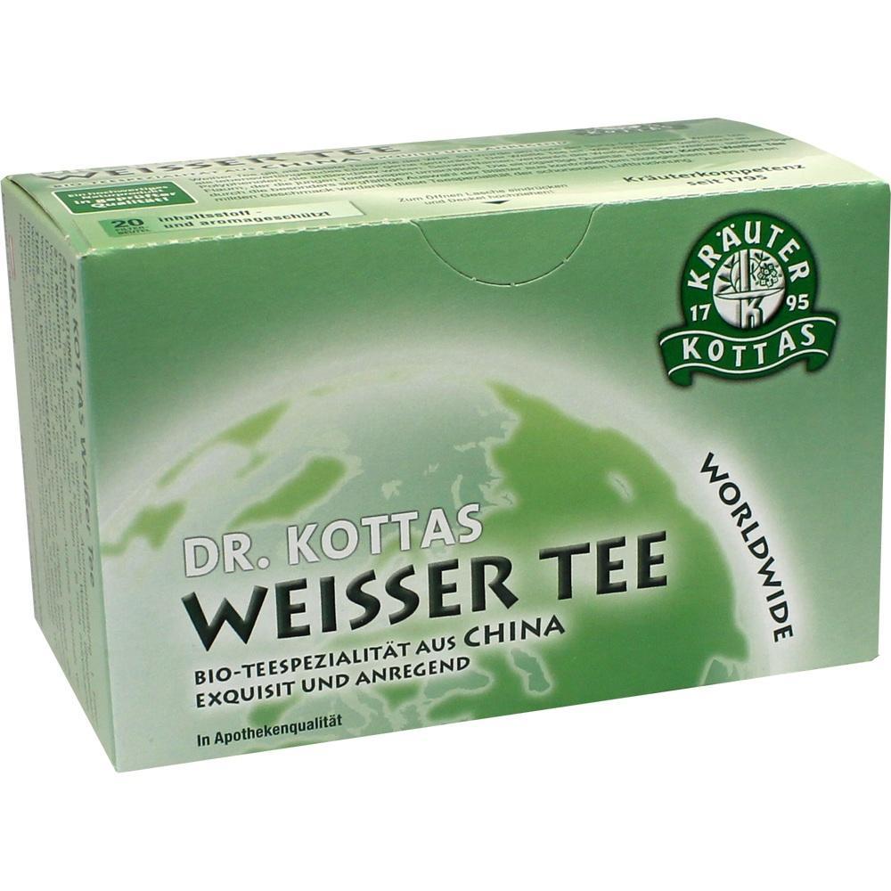 DR.KOTTAS weißer Tee Filterbeutel