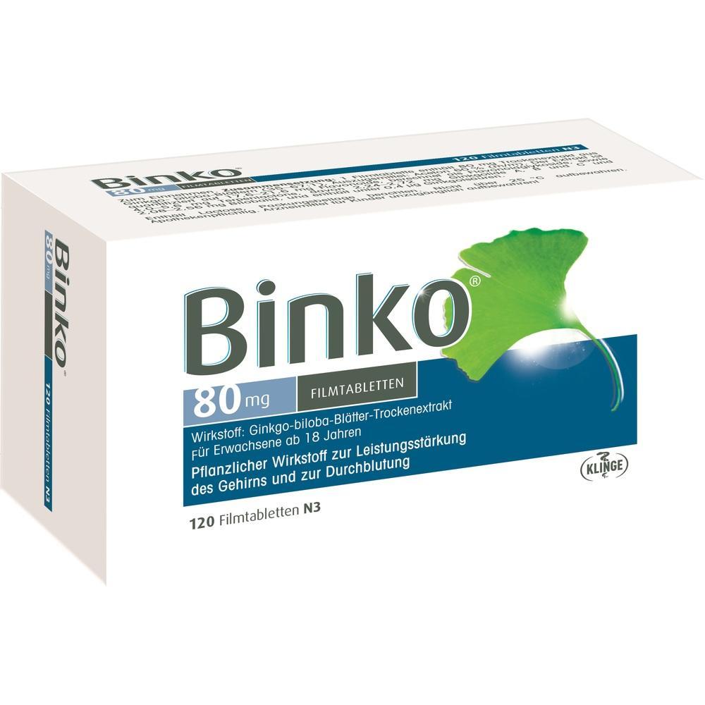09921960, BINKO 80 MG, 120 ST