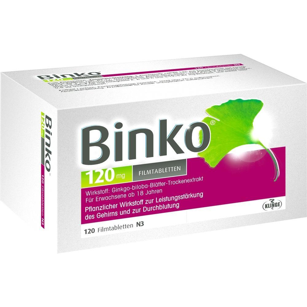 09922014, BINKO 120 MG, 120 ST