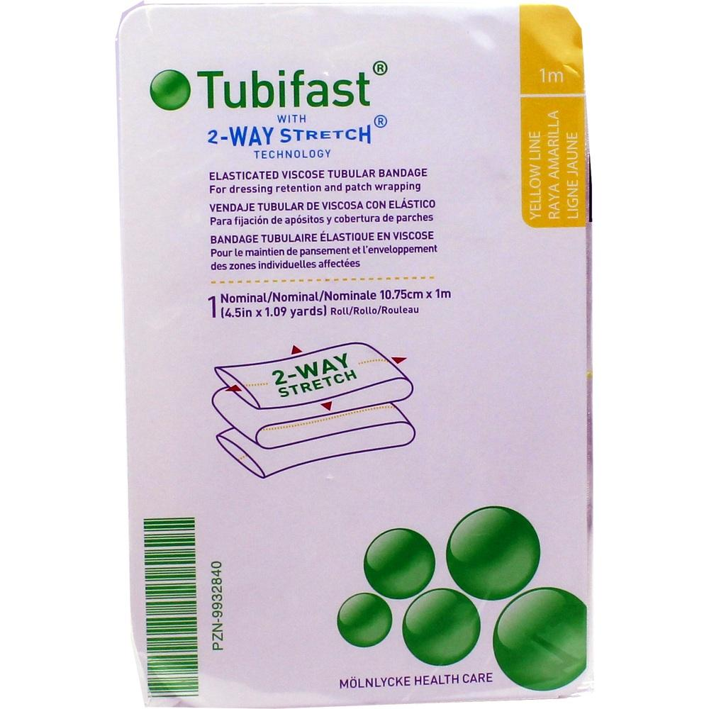 TUBIFAST 2-Way Stretch 10,75 cmx1 m gelb