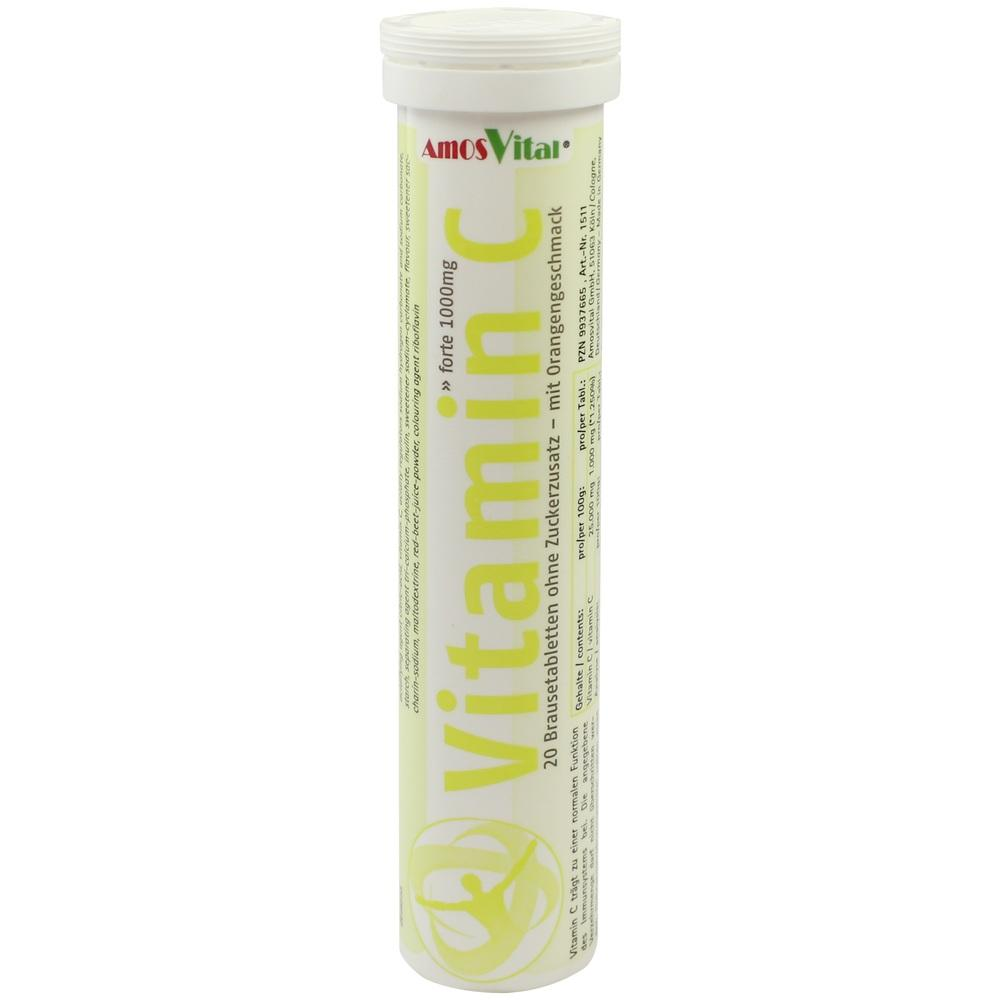 VITAMIN C 1000 mg AmosVital Brausetabletten