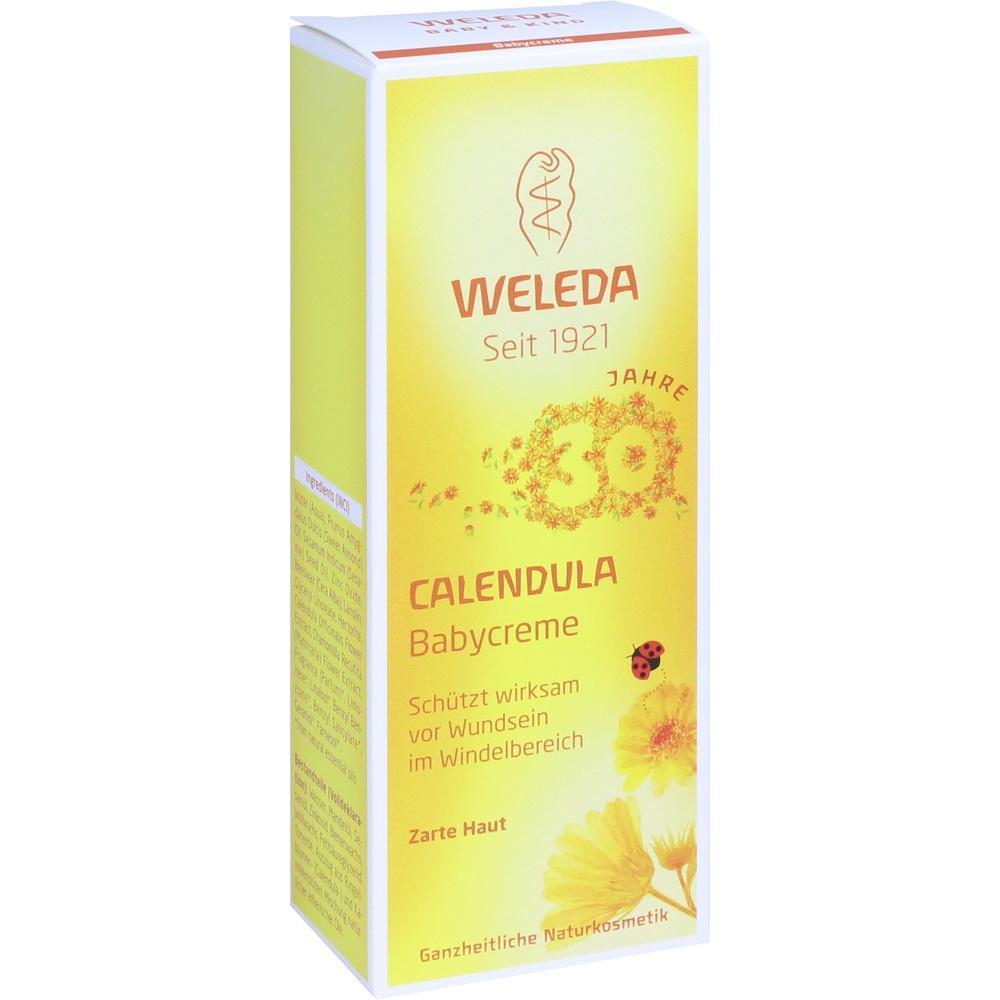 10004074, WELEDA Calendula Babycreme classic, 75 ML