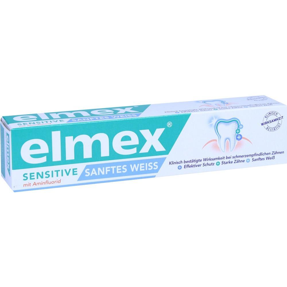10005671, elmex SENSITIVE SANFTES WEISS Zahnpasta, 75 ML