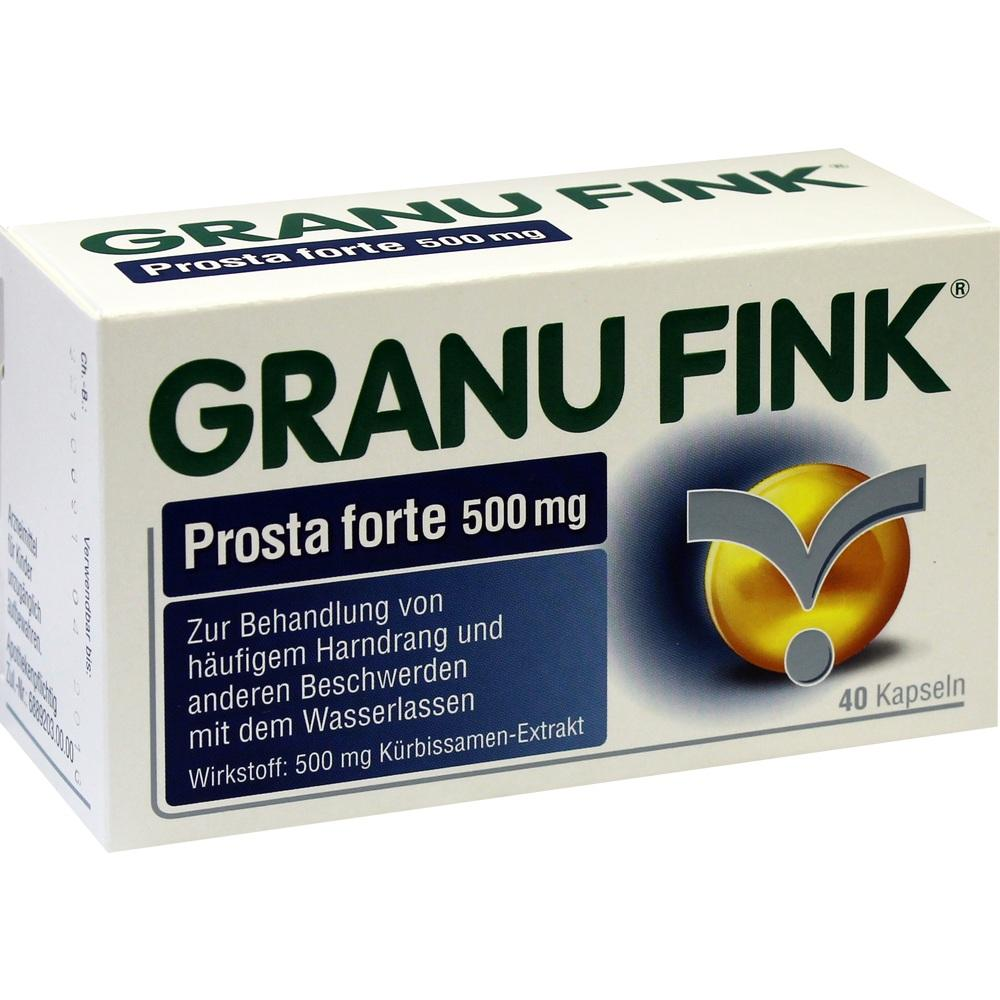 10011915, GRANU FINK Prosta forte 500 mg, 40 ST
