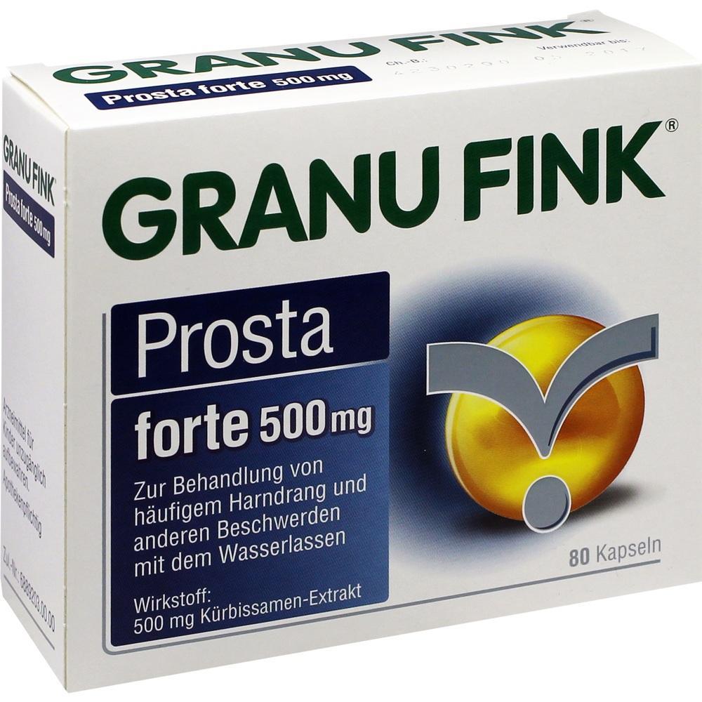 10011921, GRANU FINK Prosta forte 500 mg, 80 ST