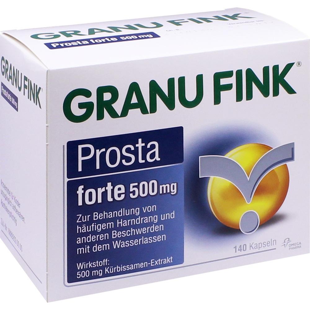 10011938, GRANU FINK Prosta forte 500 mg, 140 ST