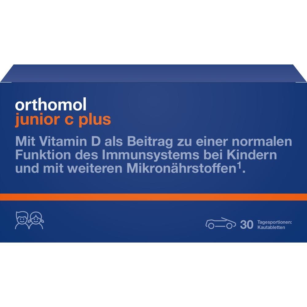 10013239, Orthomol Junior C plus Waldfrucht, 30 ST