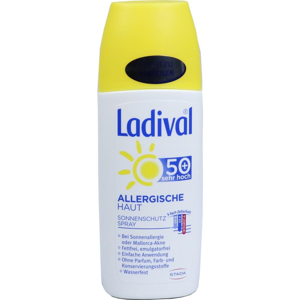 10022646, Ladival Allergische Haut Spray LSF 50+, 150 ML