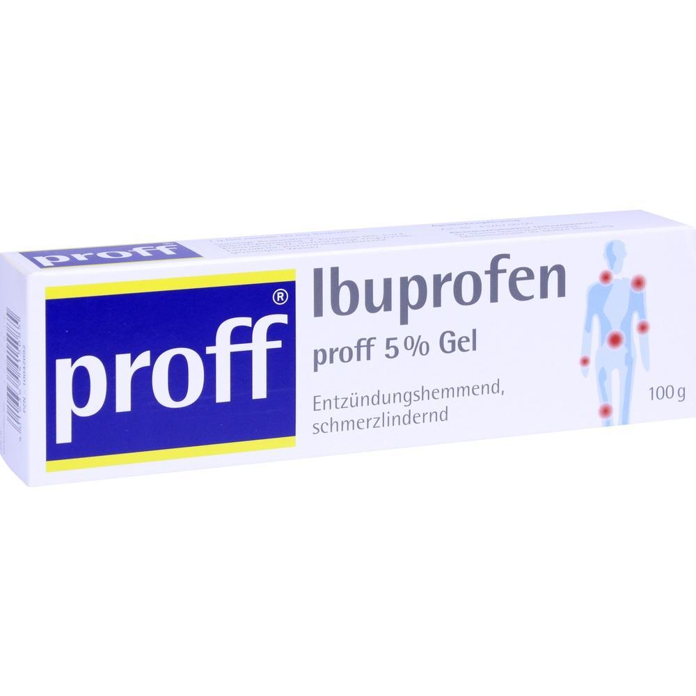 10042092, Ibuprofen proff 5 % Gel, 100 G