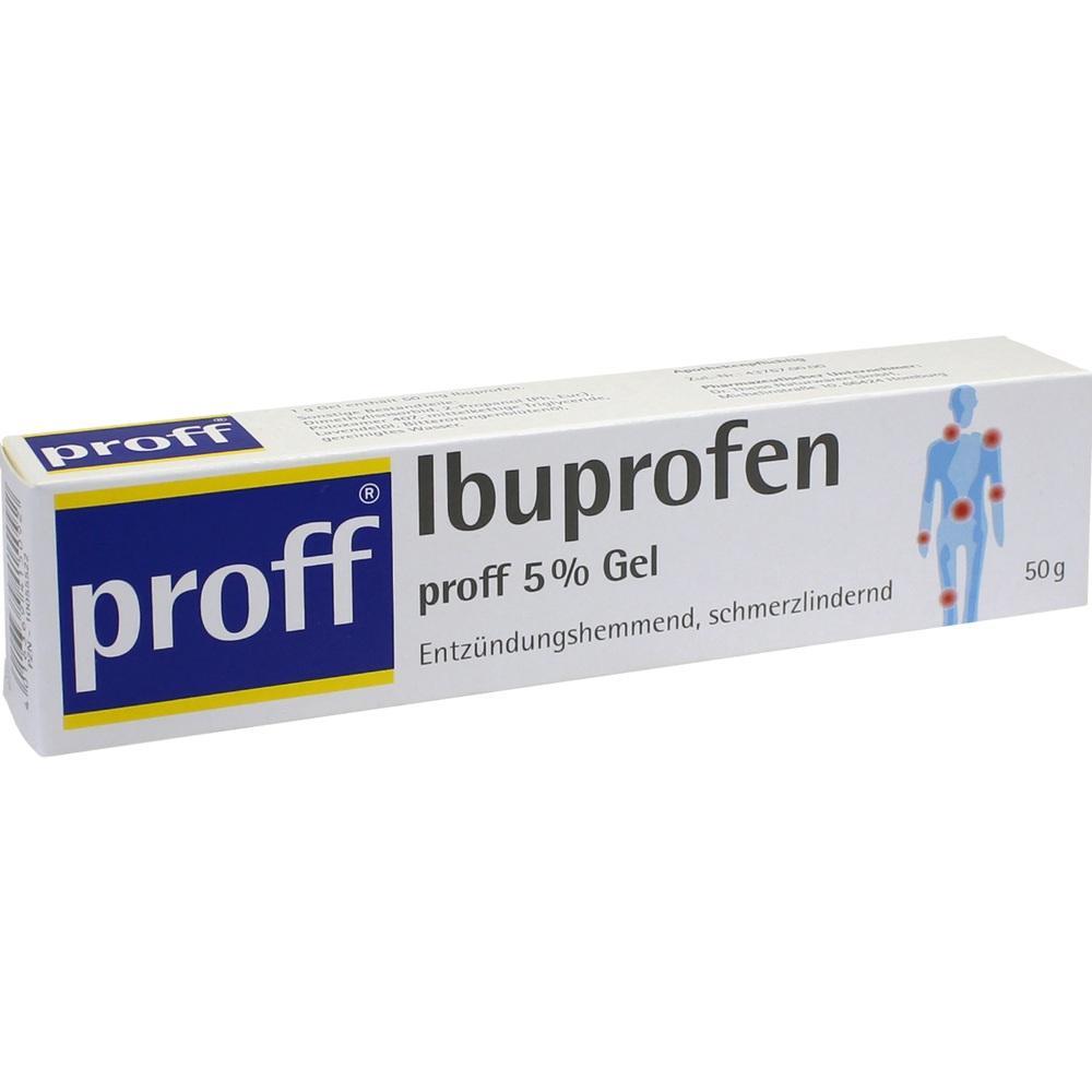 10055522, Ibuprofen proff 5 % Gel, 50 G