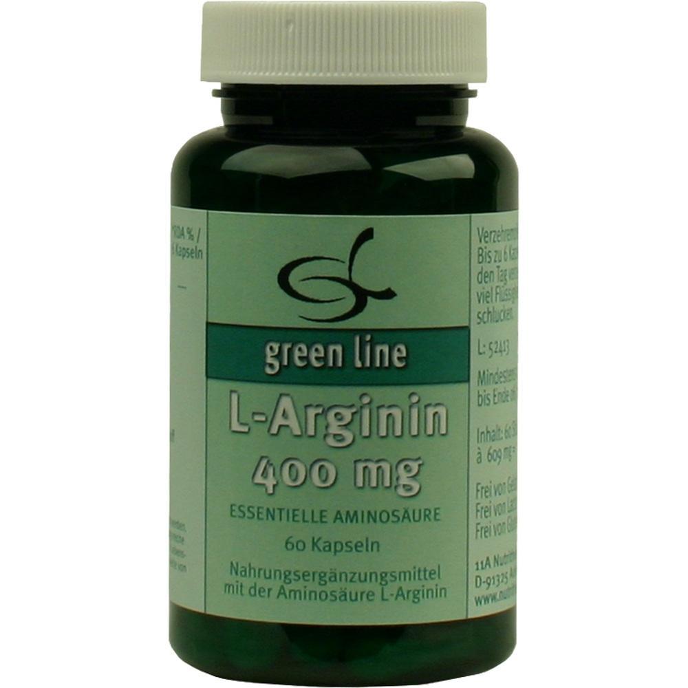 10060322, L-Arginin 400mg, 60 ST