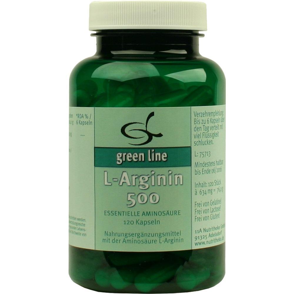 10060374, L-Arginin 500, 120 ST