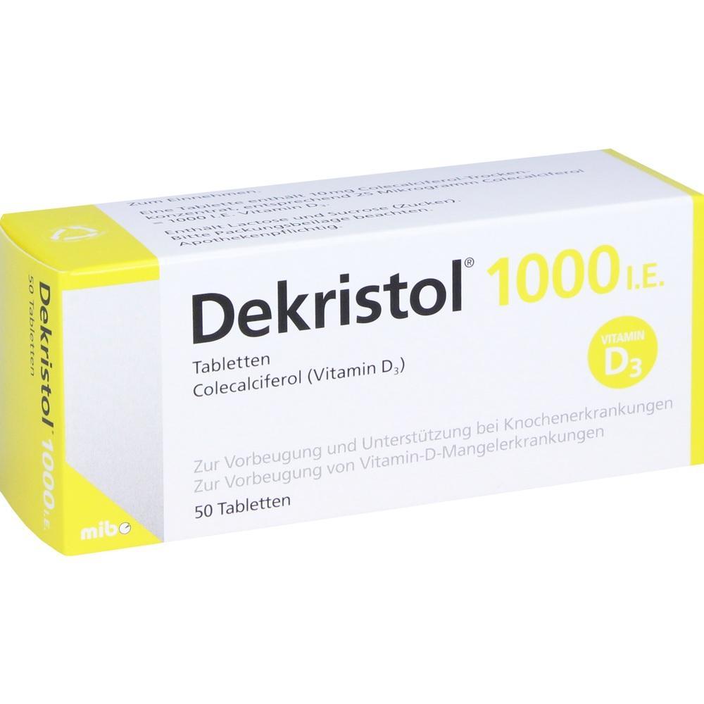 10068944, Dekristol 1000 I.E. Tabletten, 50 ST