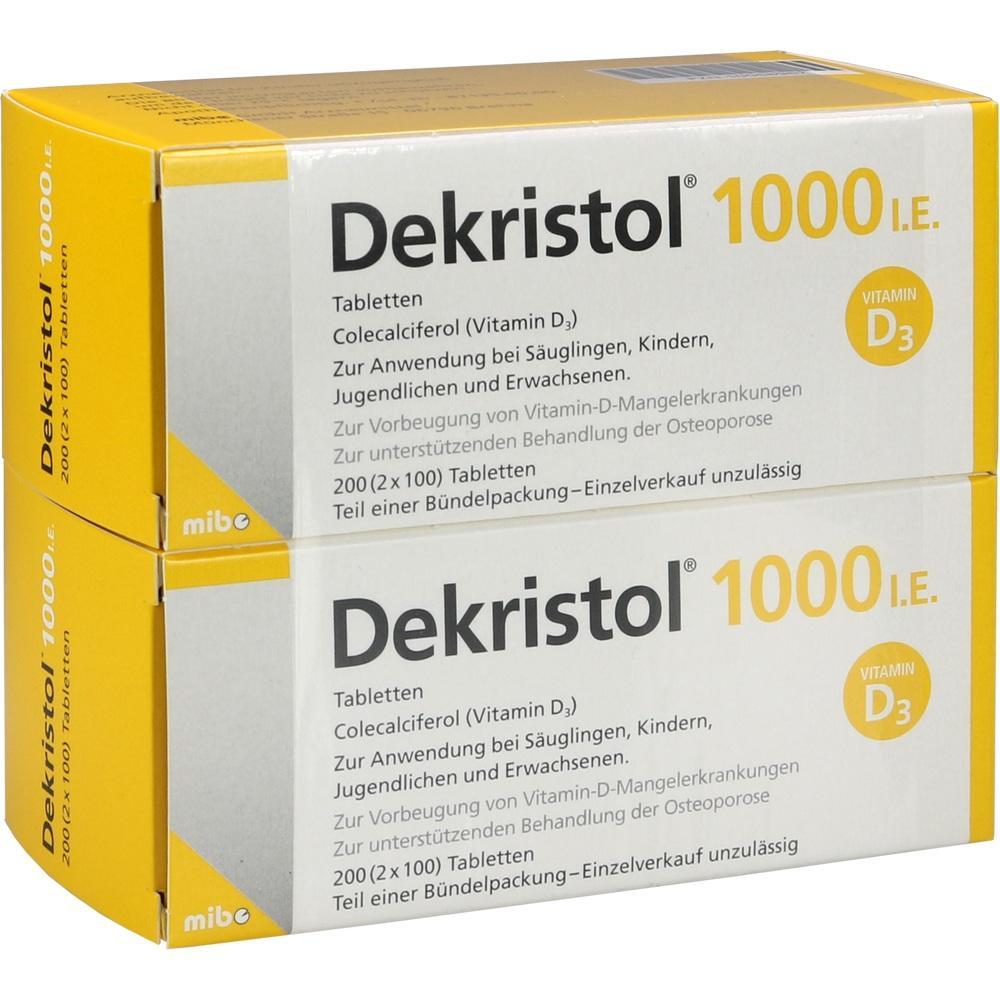 10068967, Dekristol 1000 I.E. Tabletten, 200 ST
