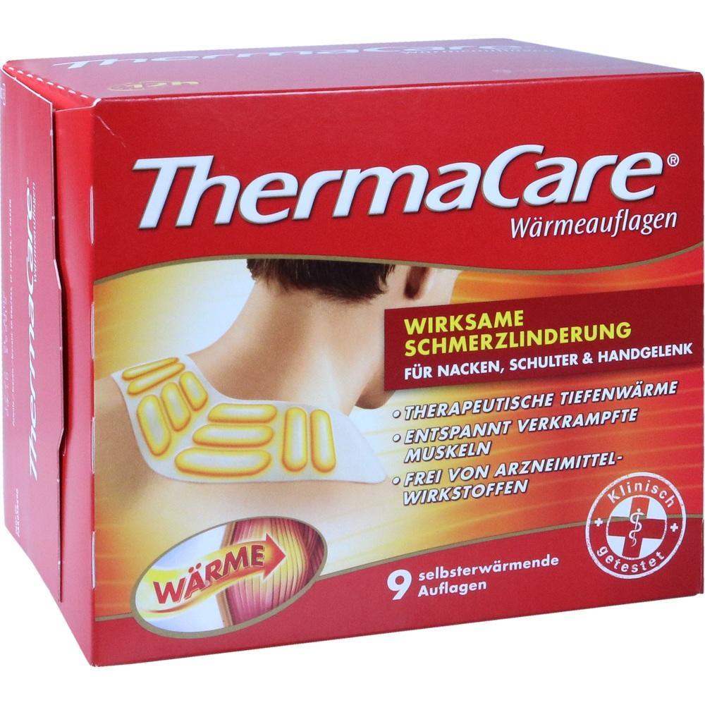 10079273, ThermaCare Nacken/Schulter Auflagen z.Schmerzlind., 9 ST