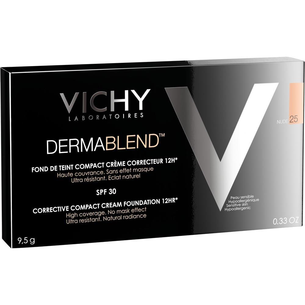 10084050, Vichy DERMABLEND Kompakt-Creme 25, 10 ML
