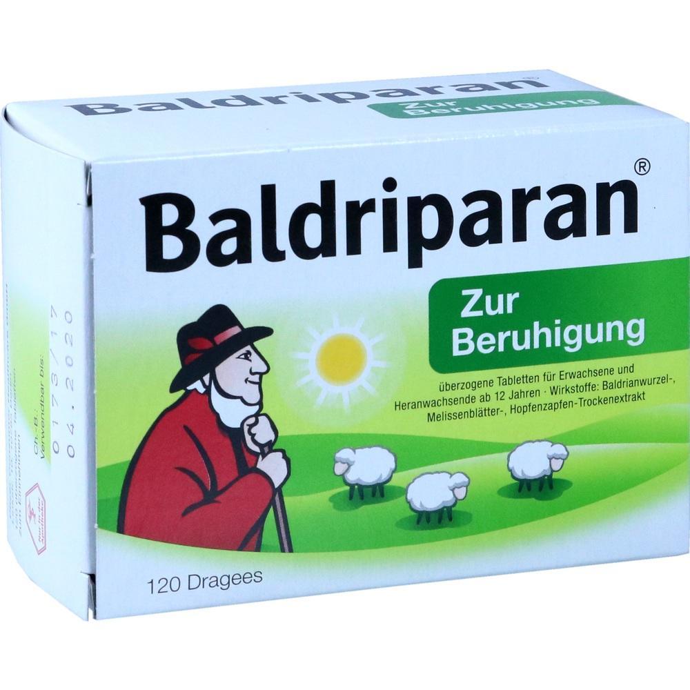 10124803, Baldriparan Zur Beruhigung, 120 ST