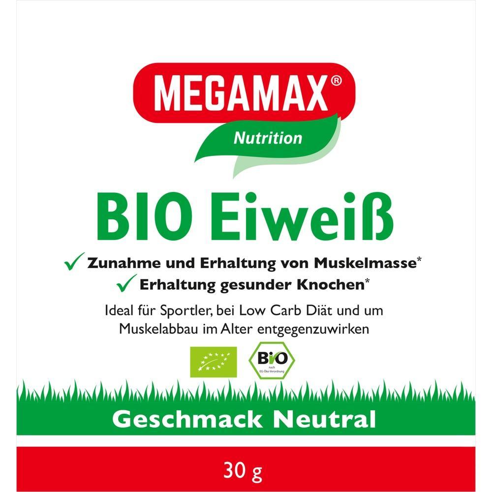 Bio Eiweiss Neutral Megamax Pulver