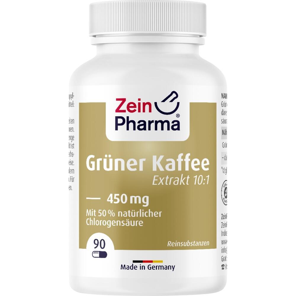10198523, Grüner Kaffee Extrakt 450mg, 90 ST