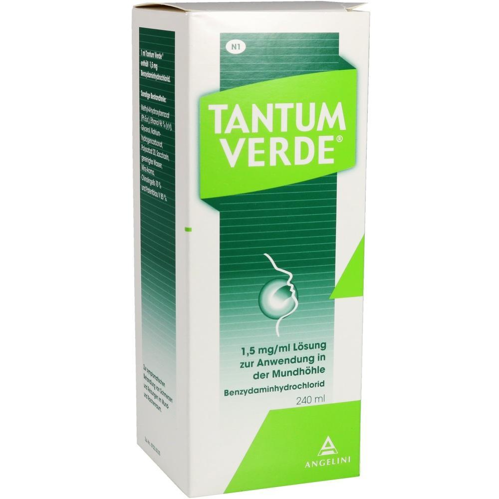 10253073, Tantum Verde 1.5mg/ml Lösung z.Anw.i.d.Mundhöhle, 240 ML