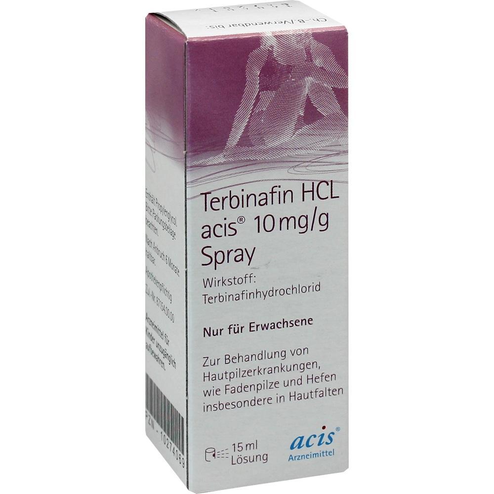 10274069, Terbinafin HCL acis 10mg/g Spray, 15 ML