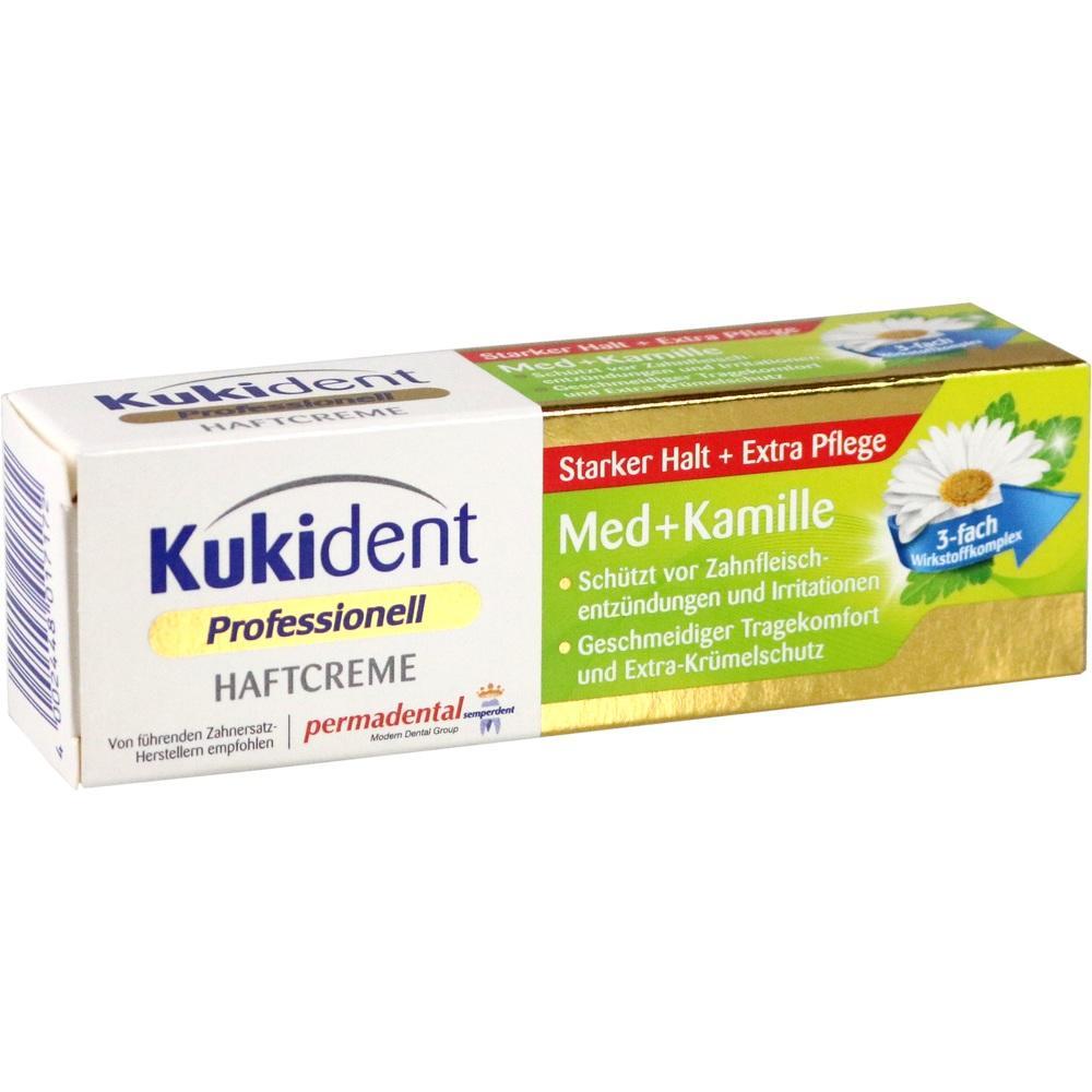 10303983, Kukident Haftcreme Med + Kamille, 40 G