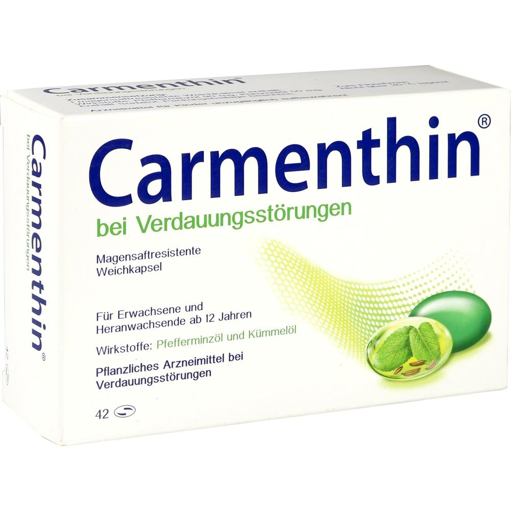 10327618, Carmenthin bei Verdauungsstörungen Weichkapsel, 42 ST