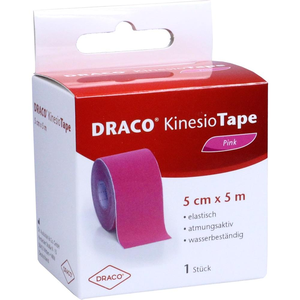 10330158, Draco Kinesiotape 5mx5cm pink, 1 ST
