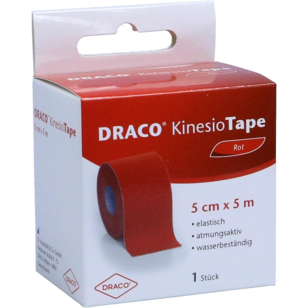 10330164, Draco Kinesiotape 5mx5cm rot, 1 ST