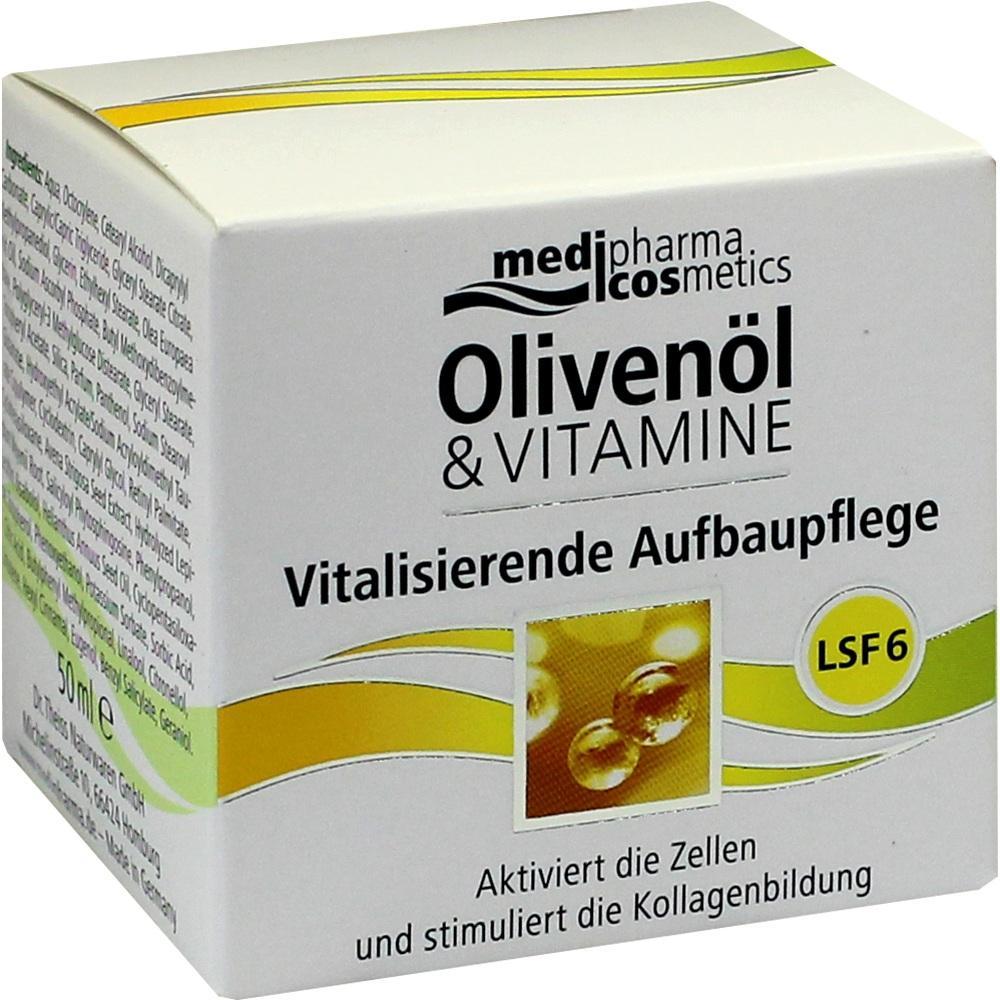 10333530, Olivenöl & Vitamine Vitalis. Aufbaupflege mit LSF, 50 ML