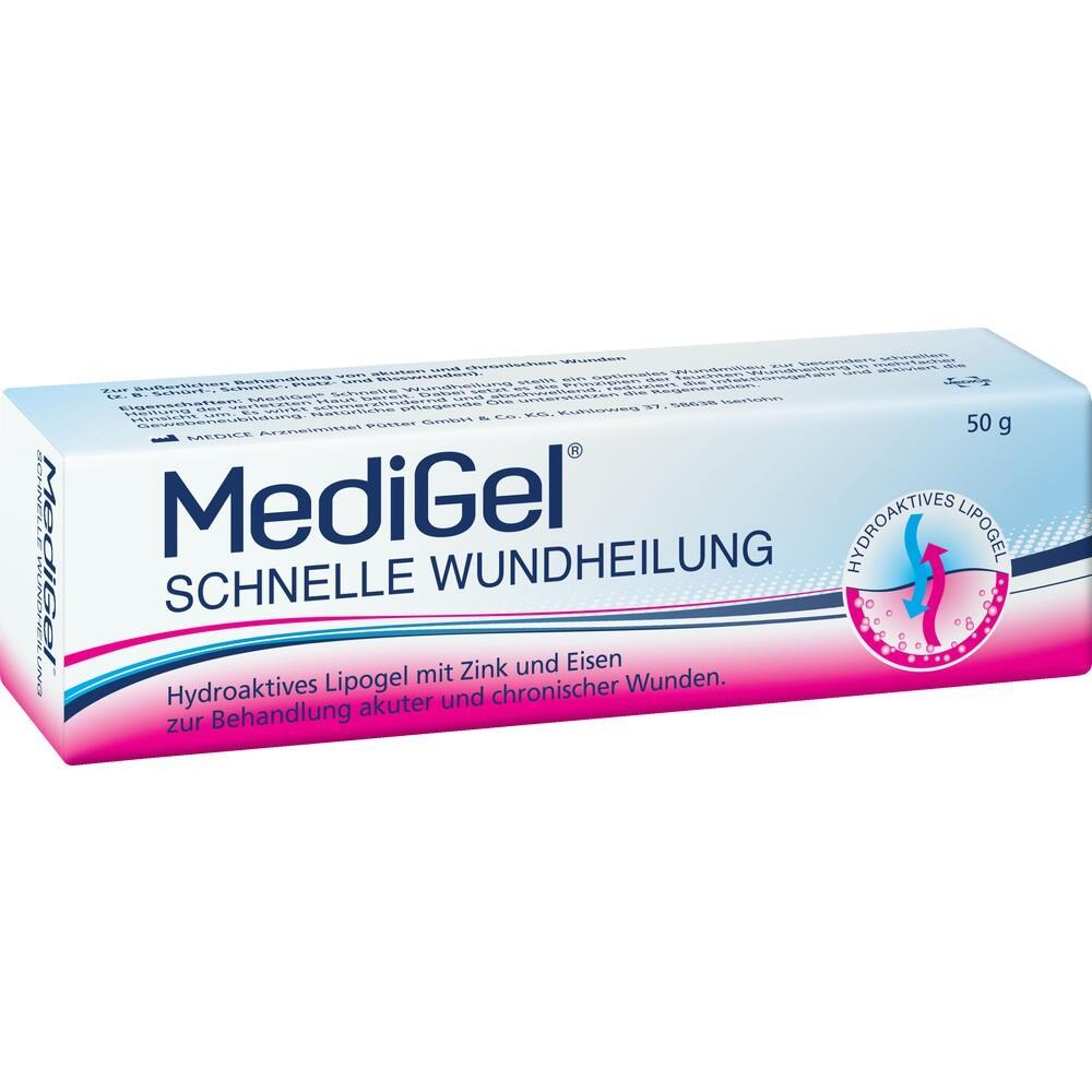 10333576, MediGel Schnelle Wundheilung, 50 G