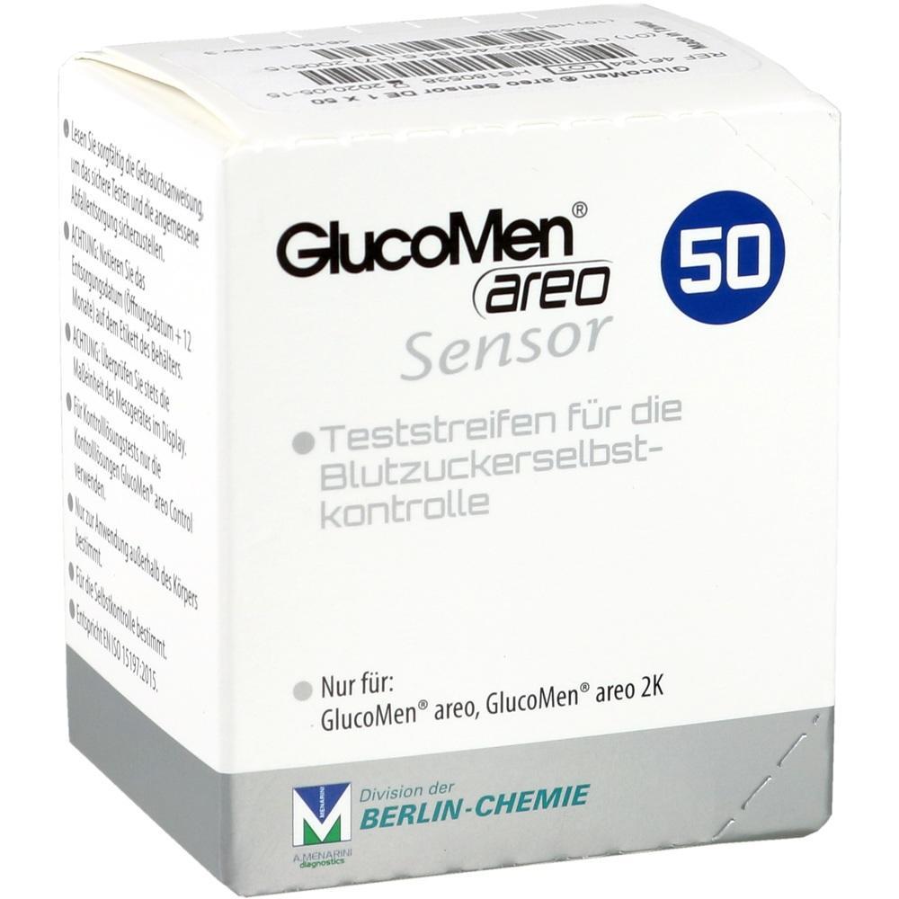 10382178, GlucoMen areo Sensor, 50 ST