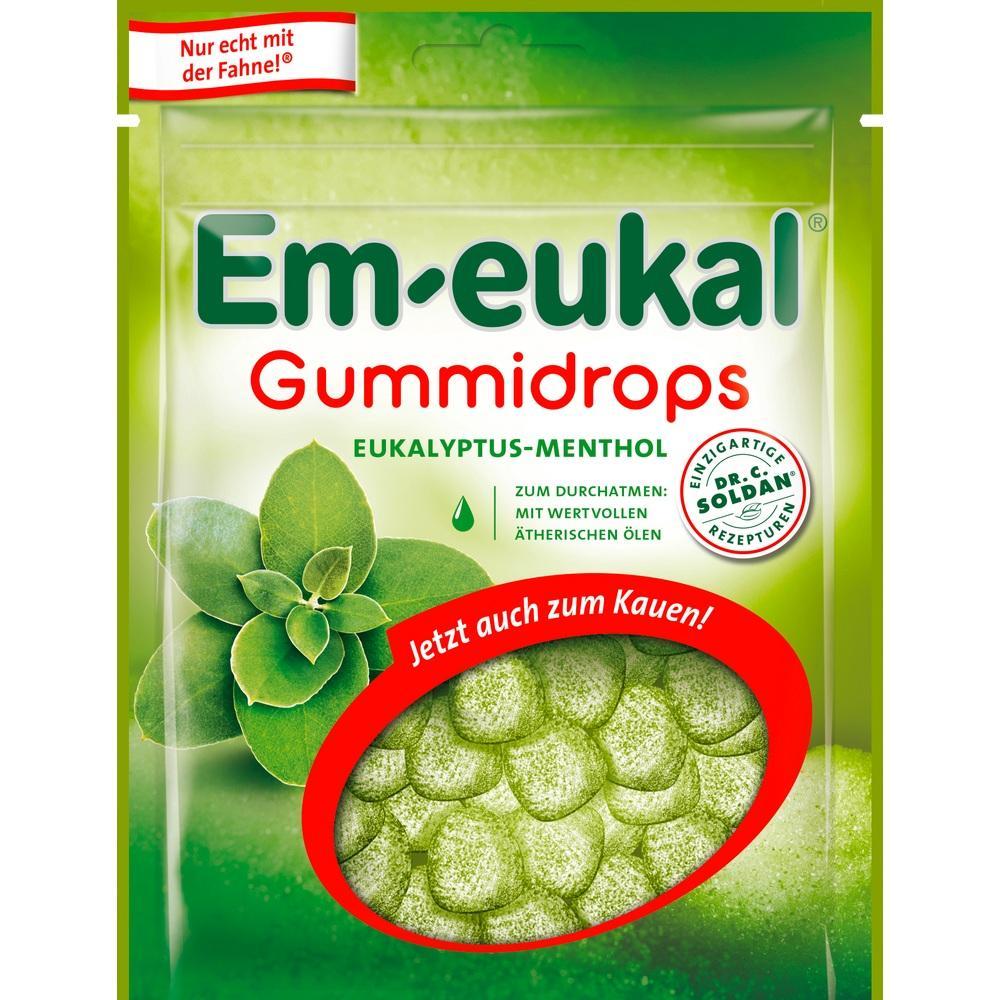 10392047, Em-eukal Gummidrops Eukalypt.Menthol ZH, 90 G