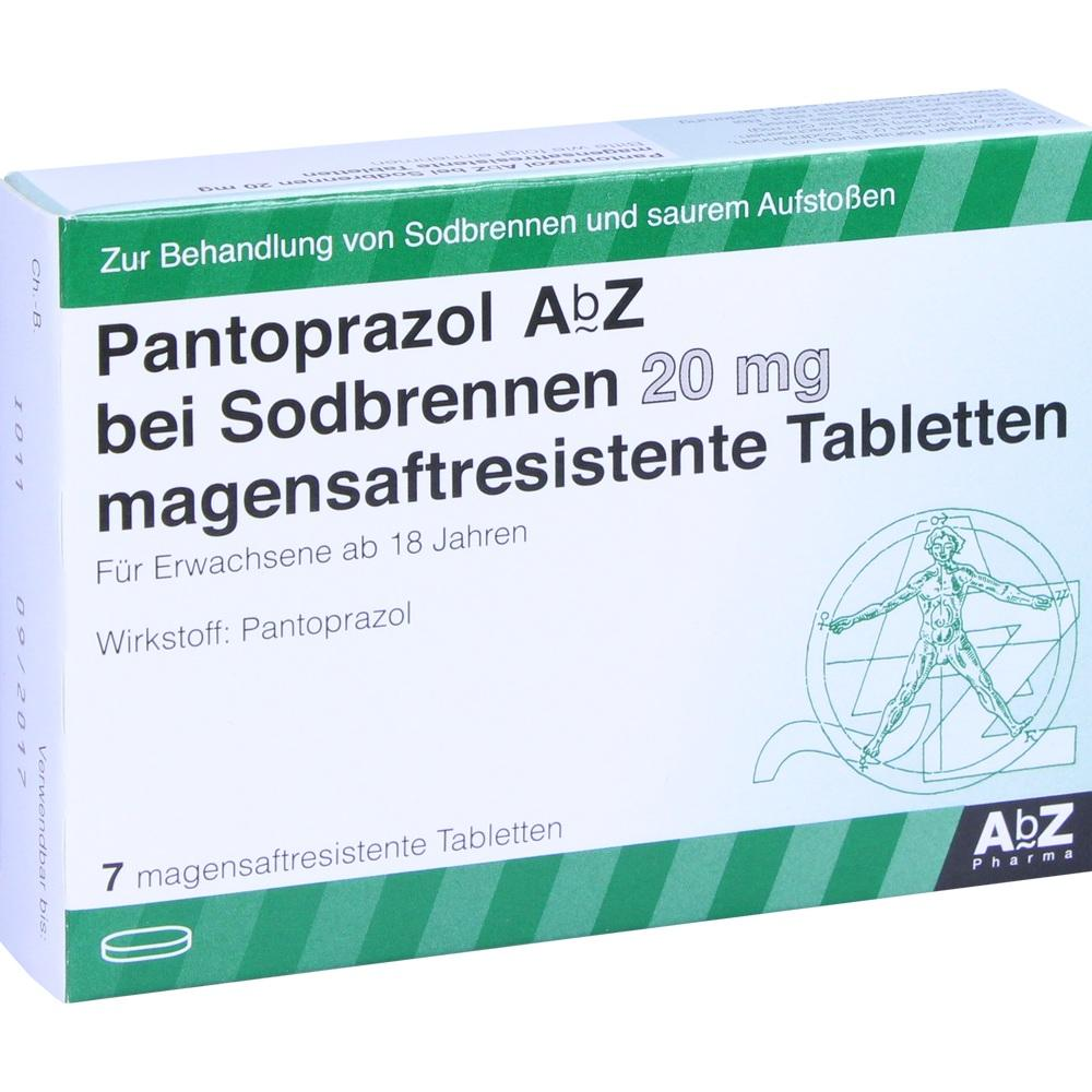 10397837, Pantoprazol AbZ bei Sodbrennen 20 mg mag.saft.r.T., 7 ST