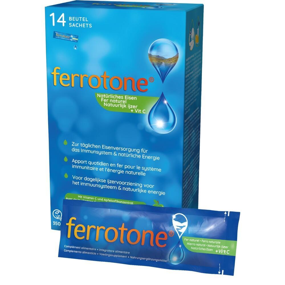 10399670, Ferrotone Eisen mit Apfel, 14X25 ML