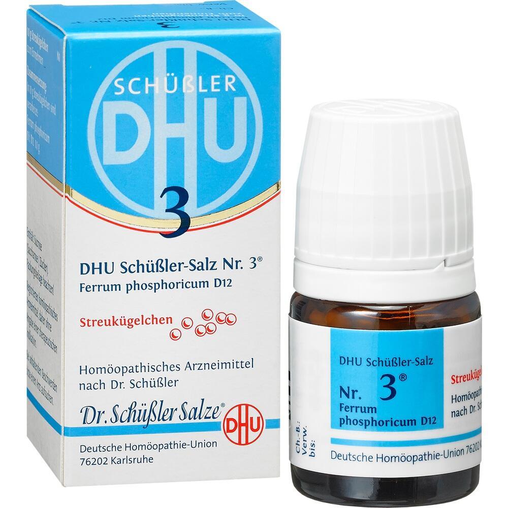 10545887, Biochemie DHU 3 Ferrum phosphoricum D12, 10 G