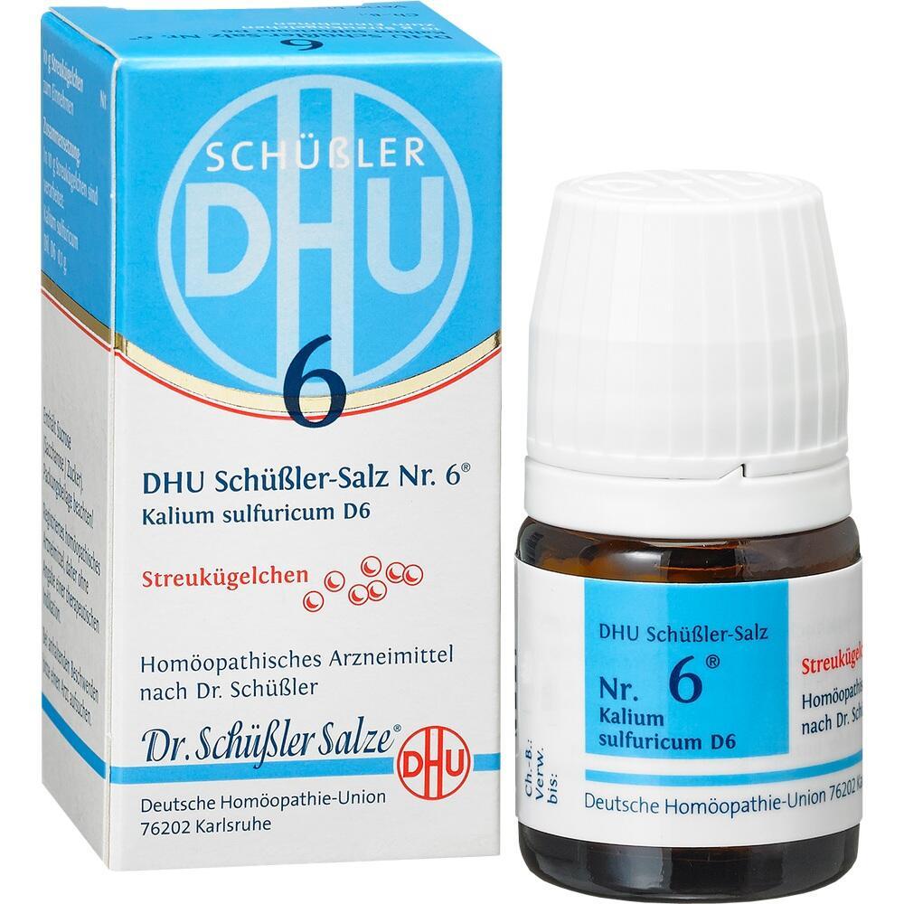 10545918, Biochemie DHU 6 Kalium sulfuricum D6, 10 G