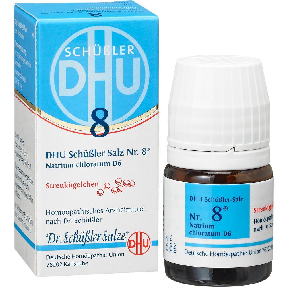 10545930, Biochemie DHU 8 Natrium chloratum D6, 10 G