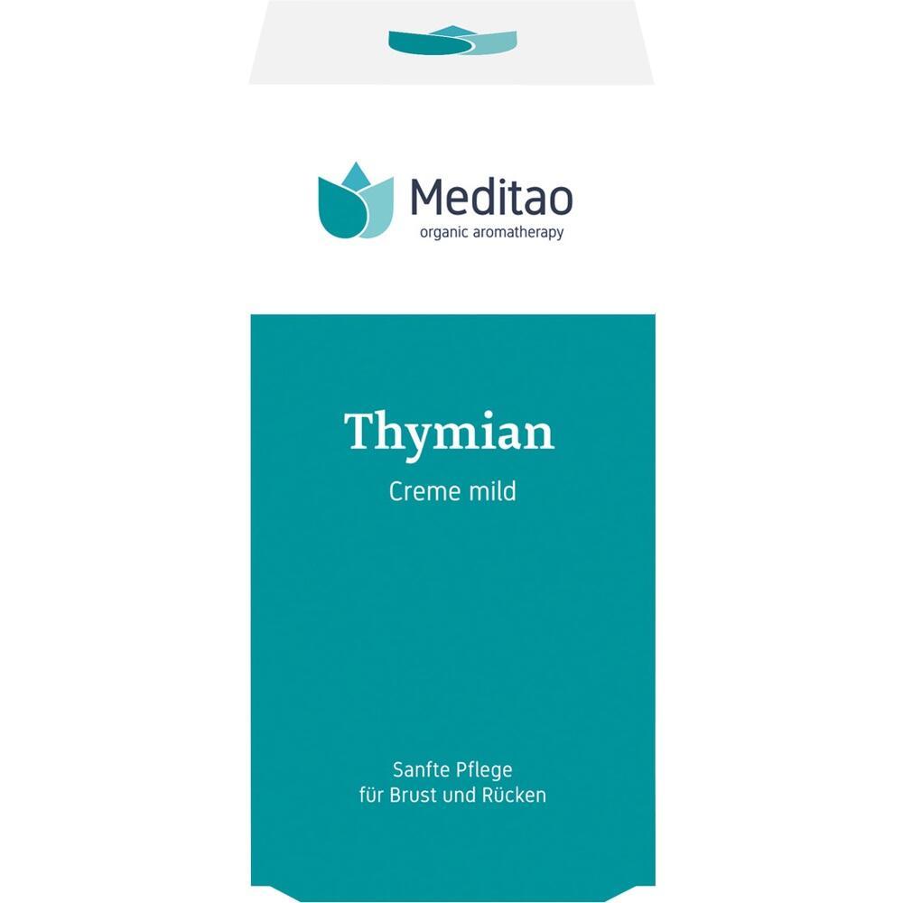 10557100, Meditao Thymiancreme mild, 50 ML