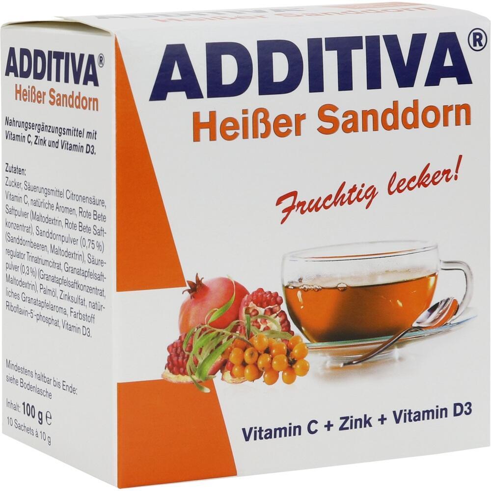 10627585, ADDITIVA Heißer Sanddorn, 100 G