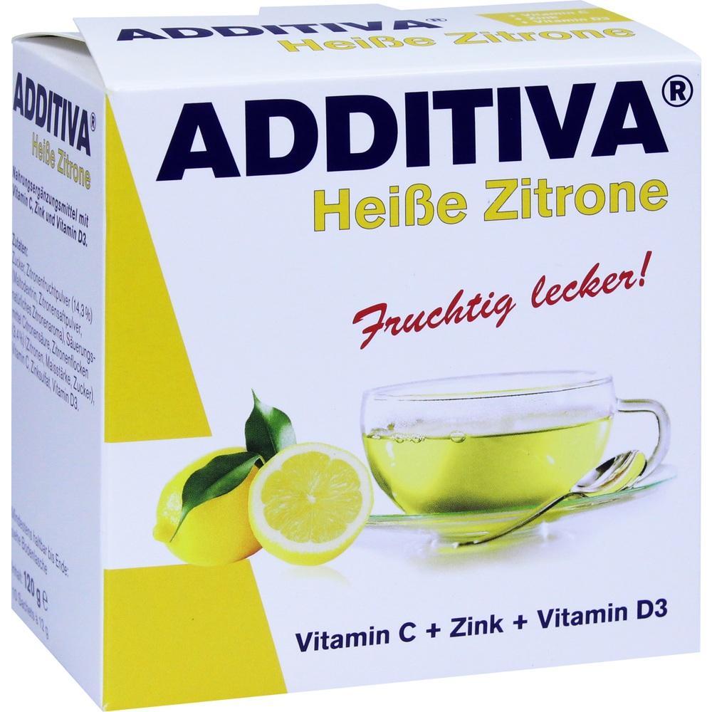 10627616, ADDITIVA Heiße Zitrone, 120 G